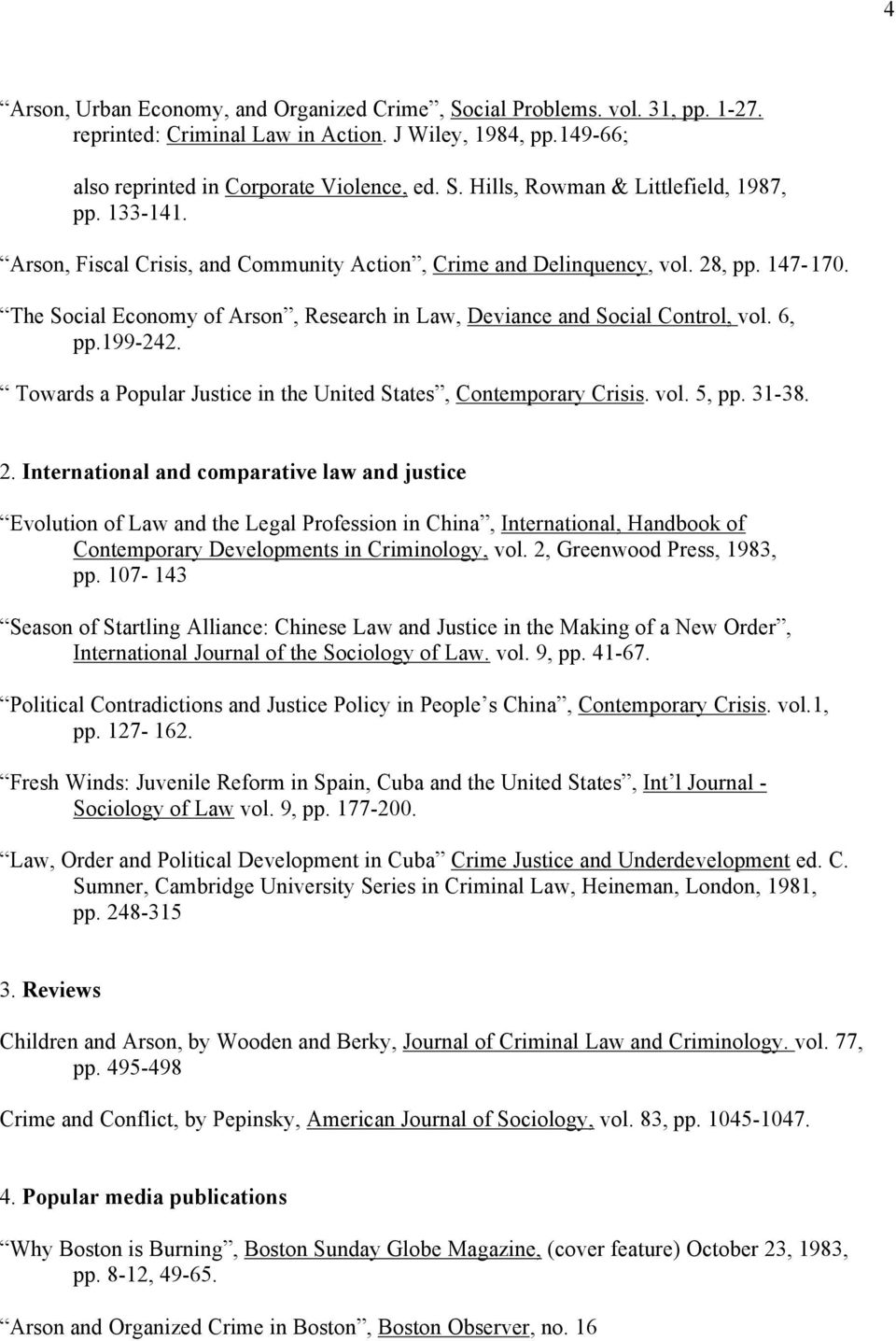 Towards a Popular Justice in the United States, Contemporary Crisis. vol. 5, pp. 31-38. 2.