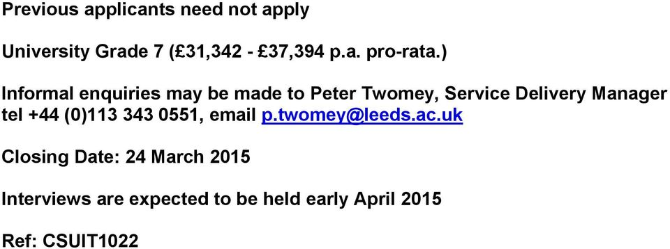 tel +44 (0)113 343 0551, email p.twomey@leeds.ac.