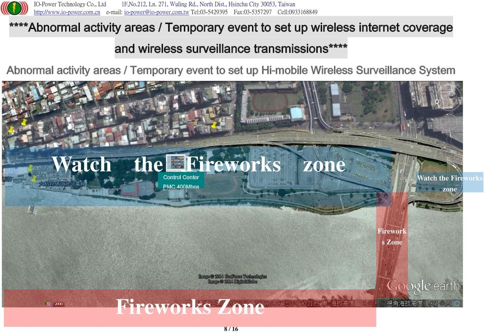 / Temporary event to set up Hi-mobile Wireless Surveillance System Watch the
