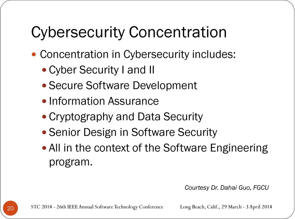 Cryptography and Data Security Senior Design in Software Security All in