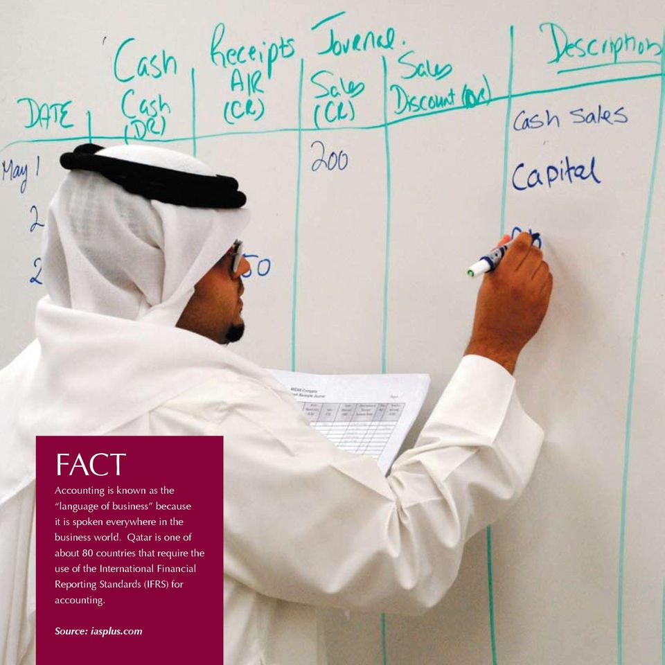 Qatar is one of about 80 countries that require the use of the