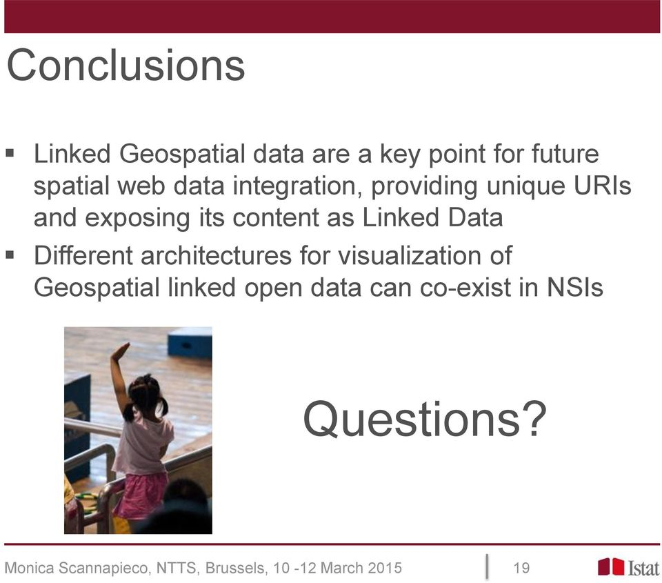 Different architectures for visualization of Geospatial linked open data can
