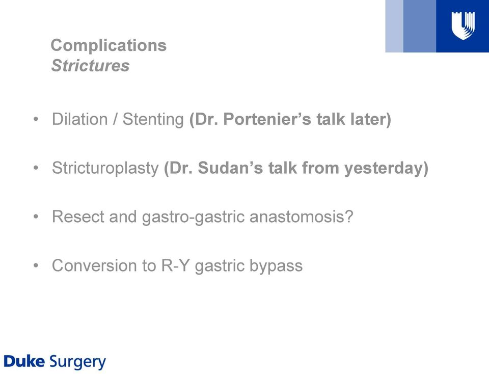 Sudan s talk from yesterday) Resect and