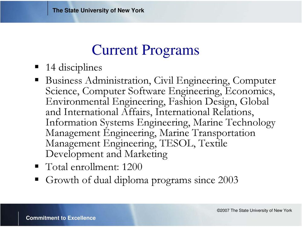 Relations, Information Systems Engineering, Marine Technology Management Engineering, Marine Transportation