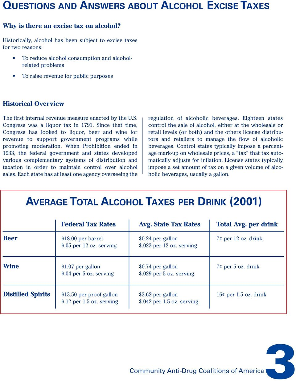 internal revenue measure enacted by the U.S. Congress was a liquor tax in 1791.