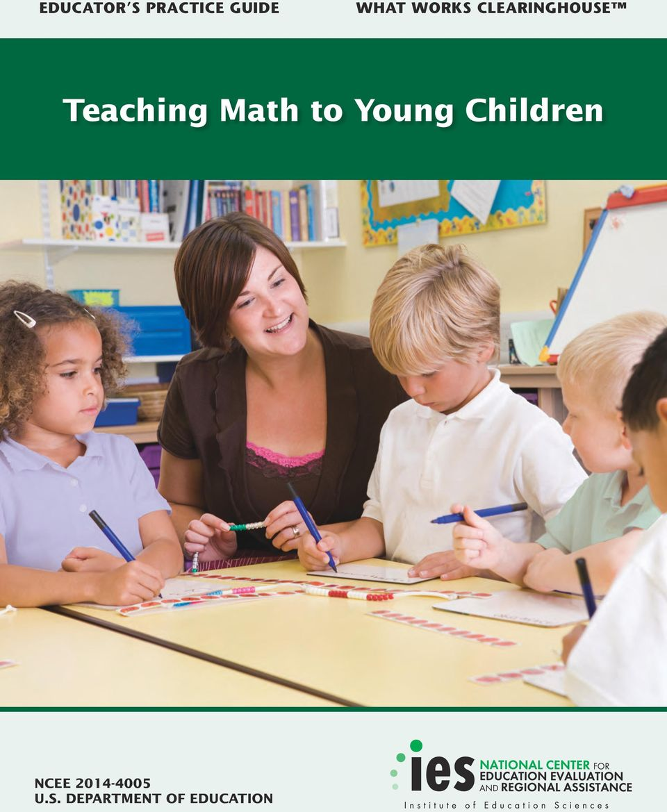 Math to Young Children NCEE