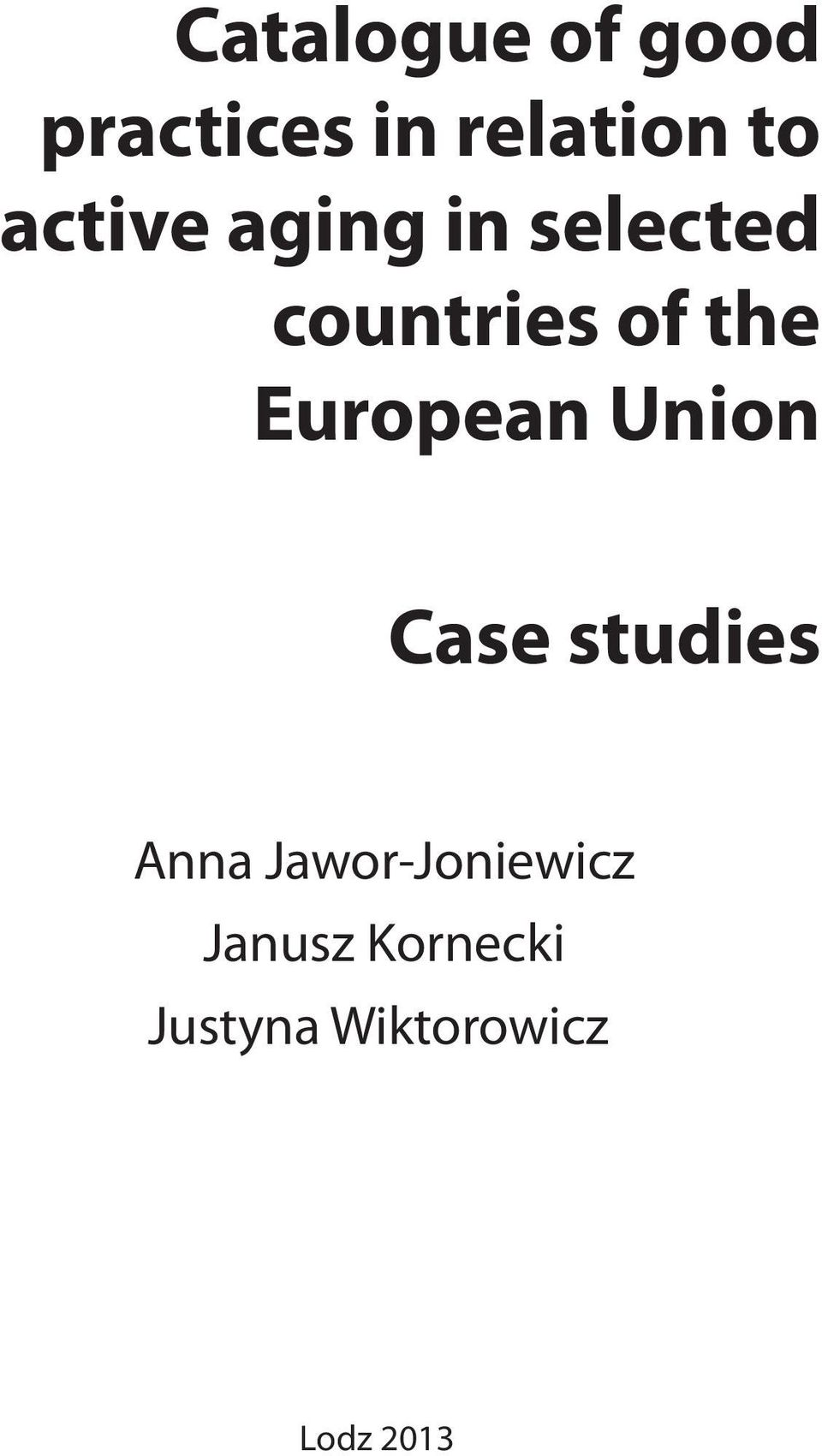 European Union Case studies Anna