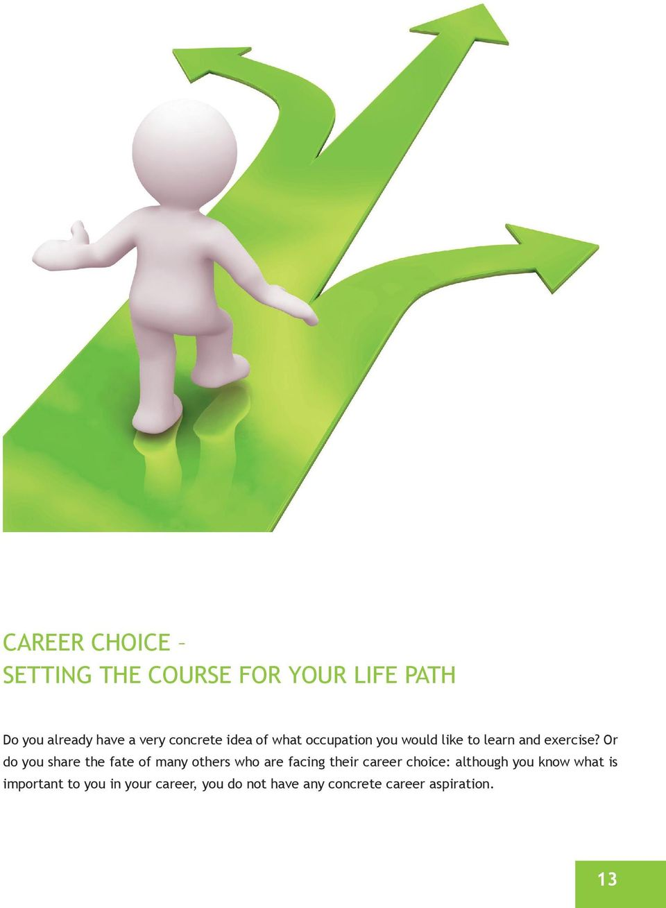 or do you share the fate of many others who are facing their career choice:
