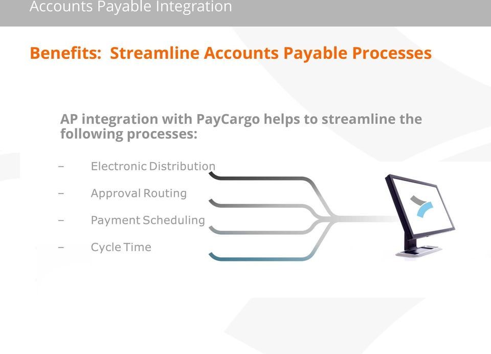integration with PayCargo