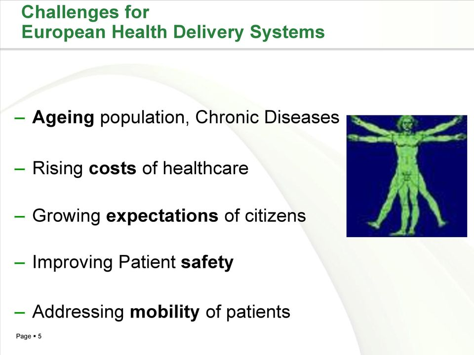 healthcare Growing expectations of citizens