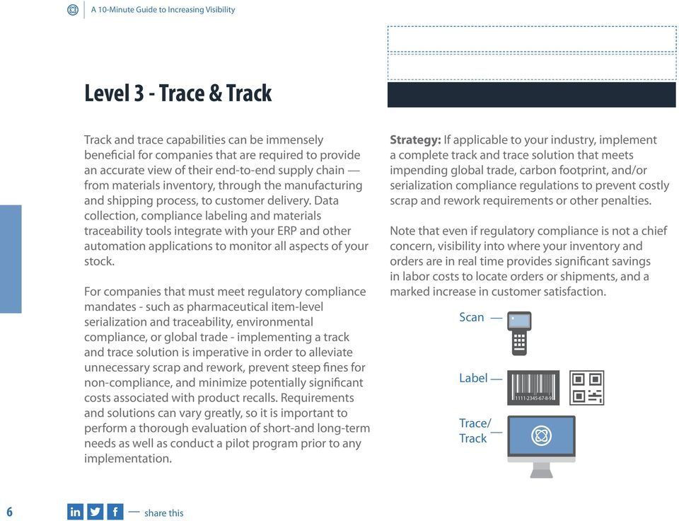 Data collection, compliance labeling and materials traceability tools integrate with your ERP and other automation applications to monitor all aspects of your stock.