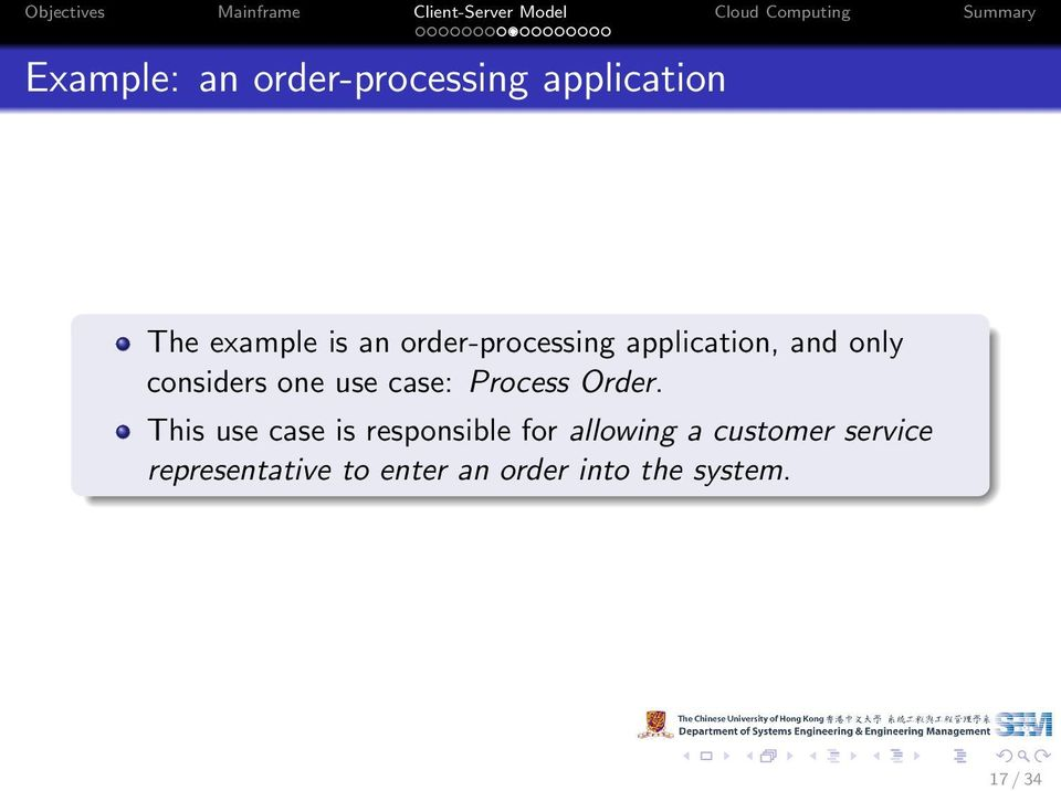 Process Order.