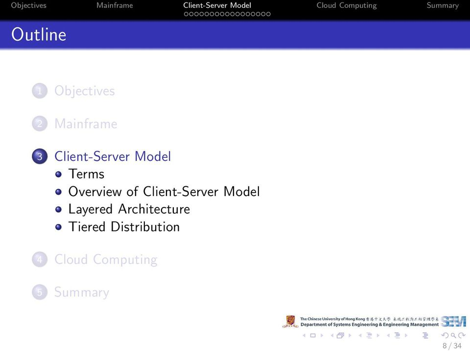 Client-Server Model Layered Architecture
