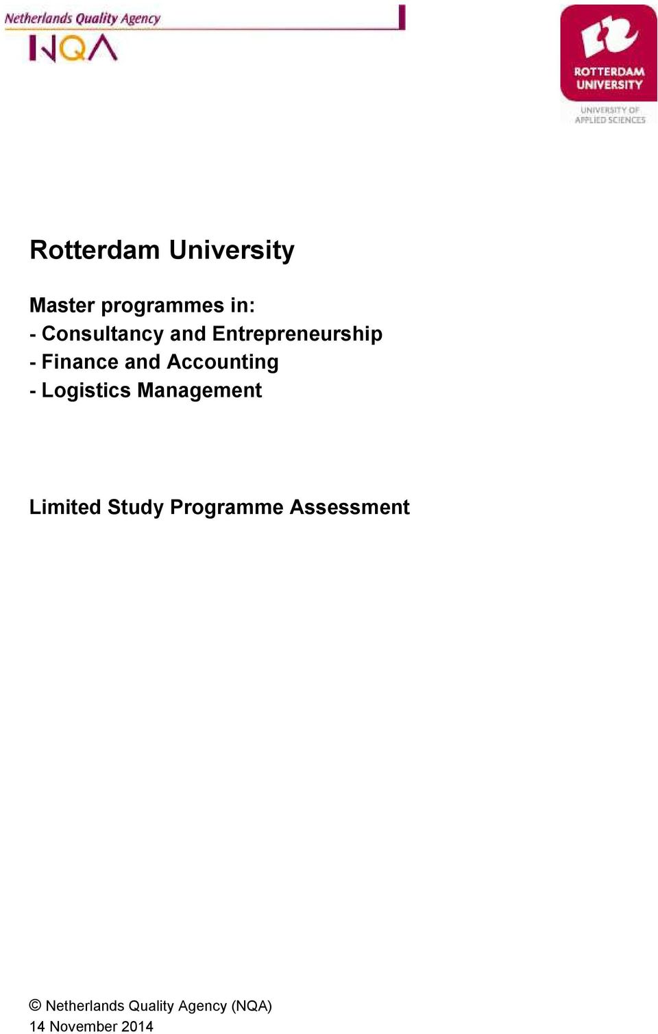 Accounting - Logistics Management Limited Study