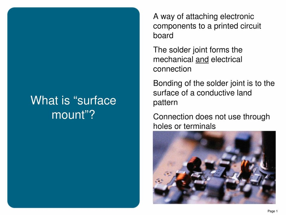 surface mount?