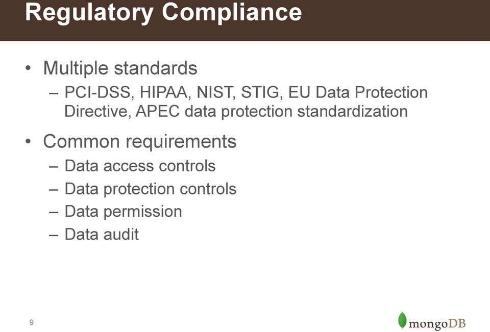 protection standardization Common requirements Data