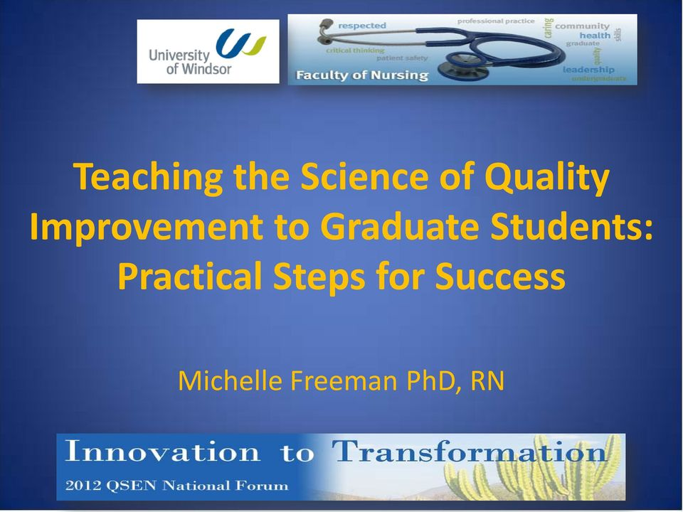 Graduate Students: Practical