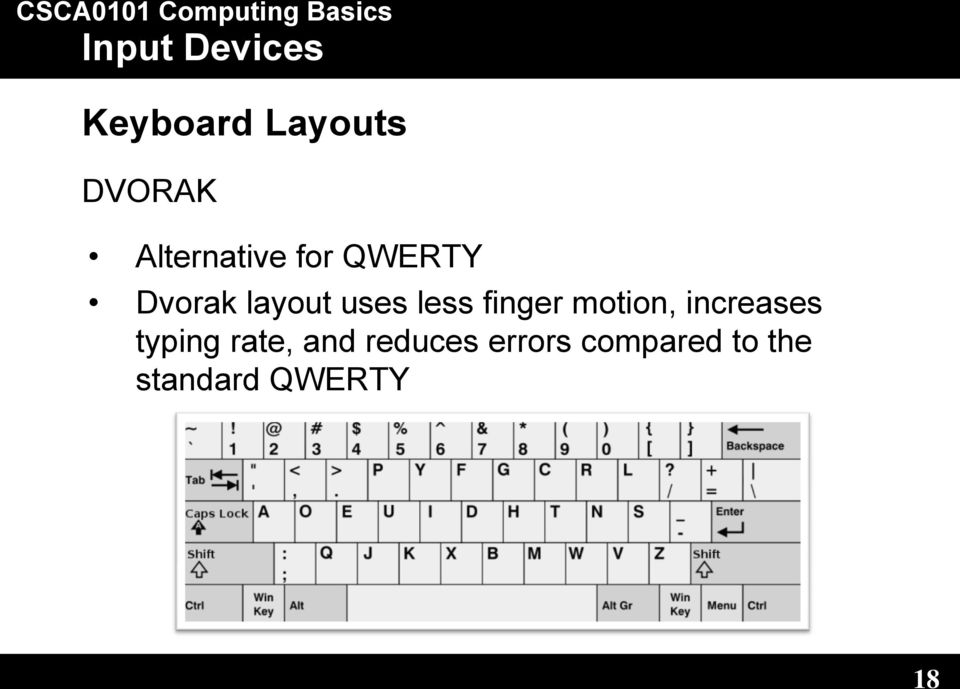 motion, increases typing rate, and