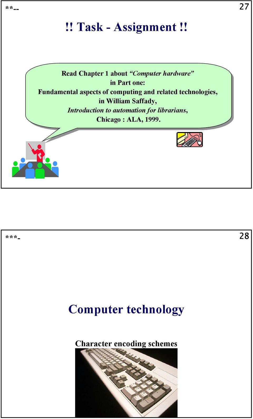 Fundamental aspects of of computing and and related technologies, in in