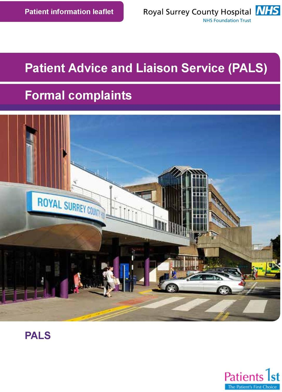 Foundation Trust Patient Advice and