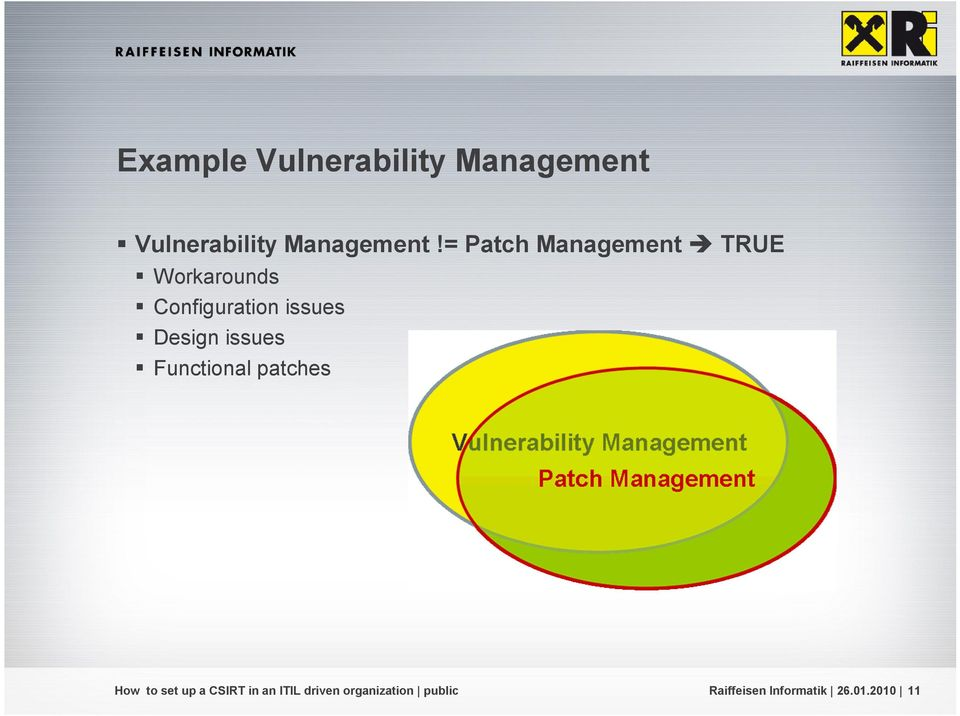 = Patch Management TRUE Workarounds