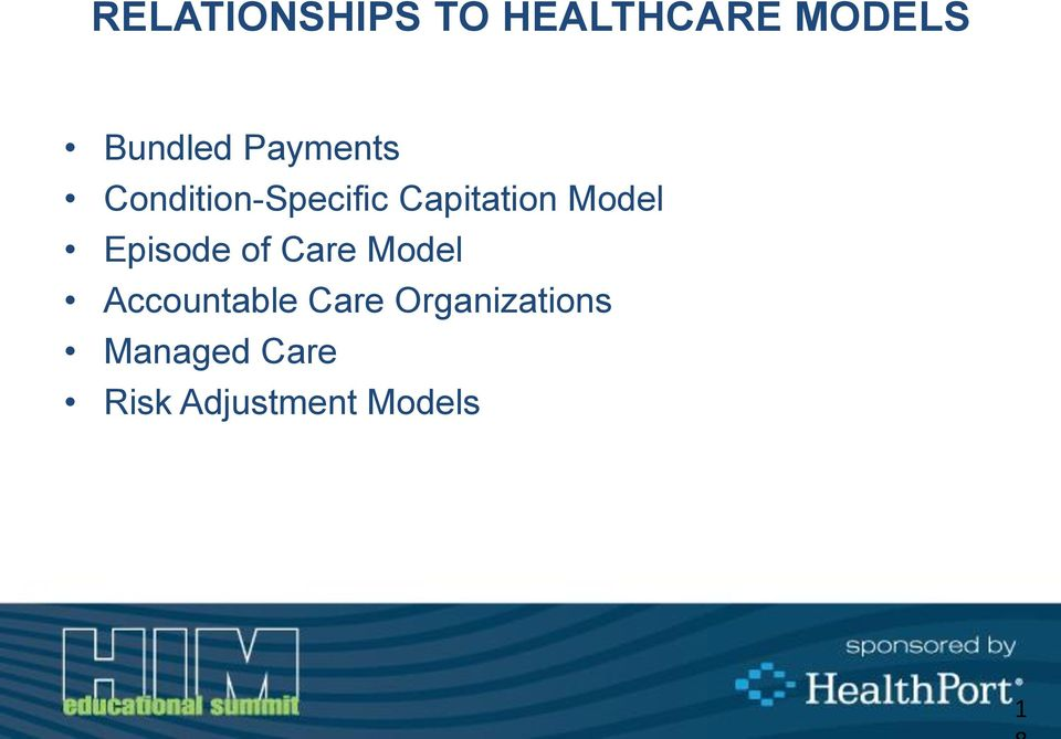 Episode of Care Model Accountable Care
