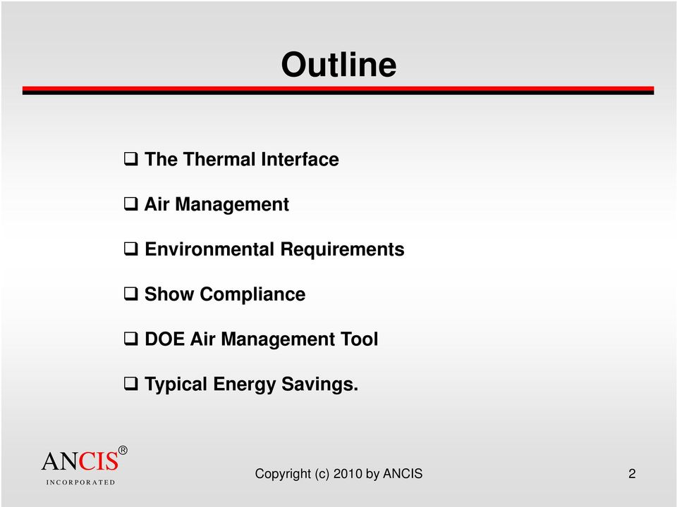 Show Compliance DOE Air Management Tool
