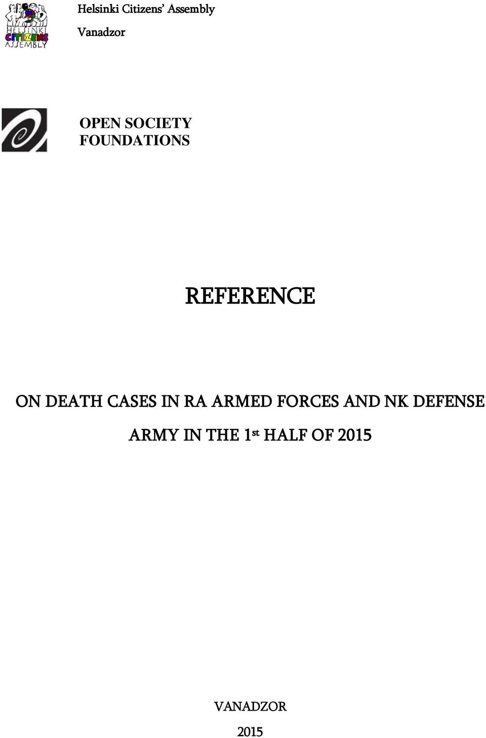 CASES IN RA ARMED FORCES AND NK DEFENSE