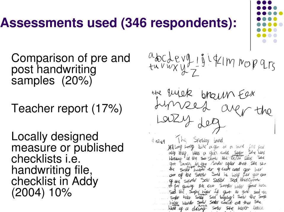 Handwriting Current Trends In Uk Occupational Therapy