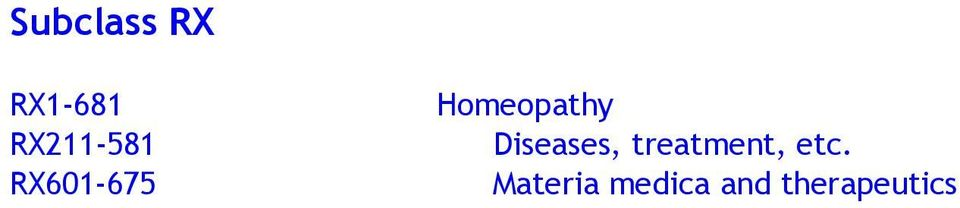 Homeopathy Diseases,