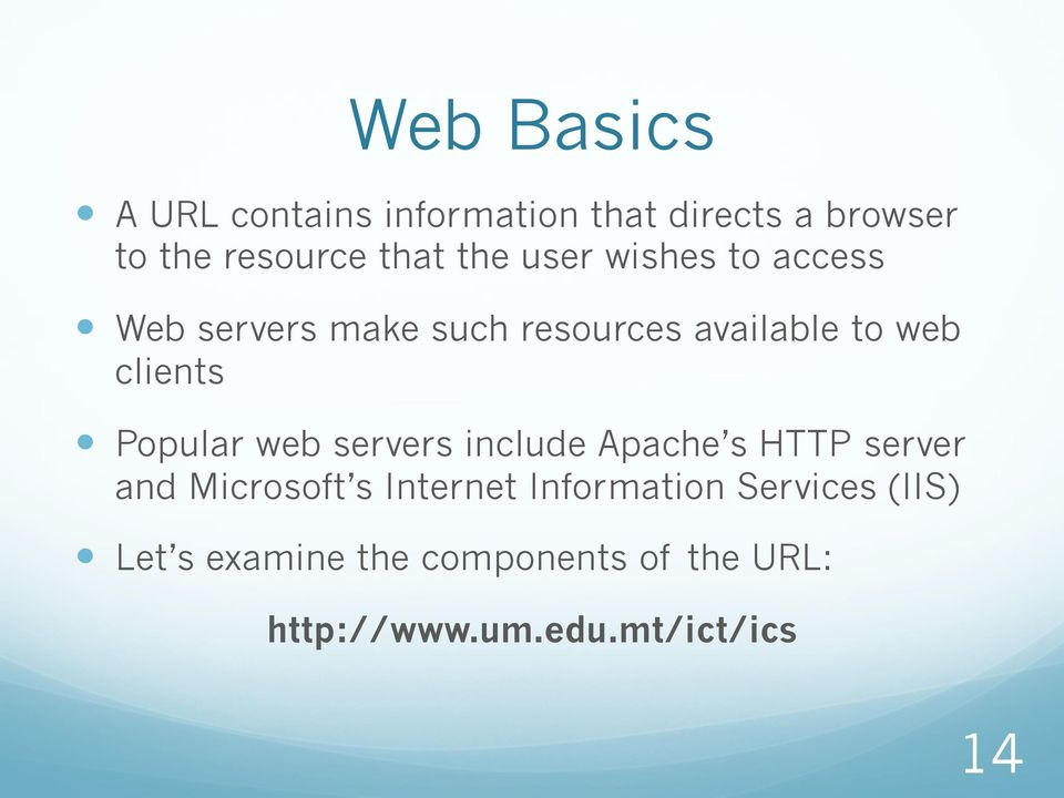Popular web servers include Apache s HTTP server and Microsoft s Internet