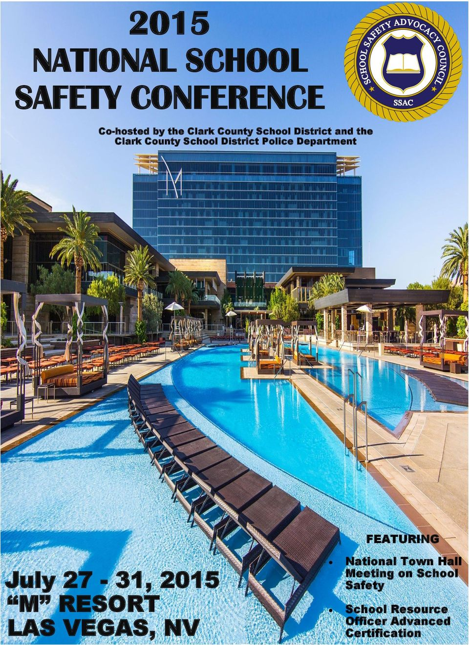 Department FEATURING July 27-31, 2015 M RESORT LAS VEGAS, NV National