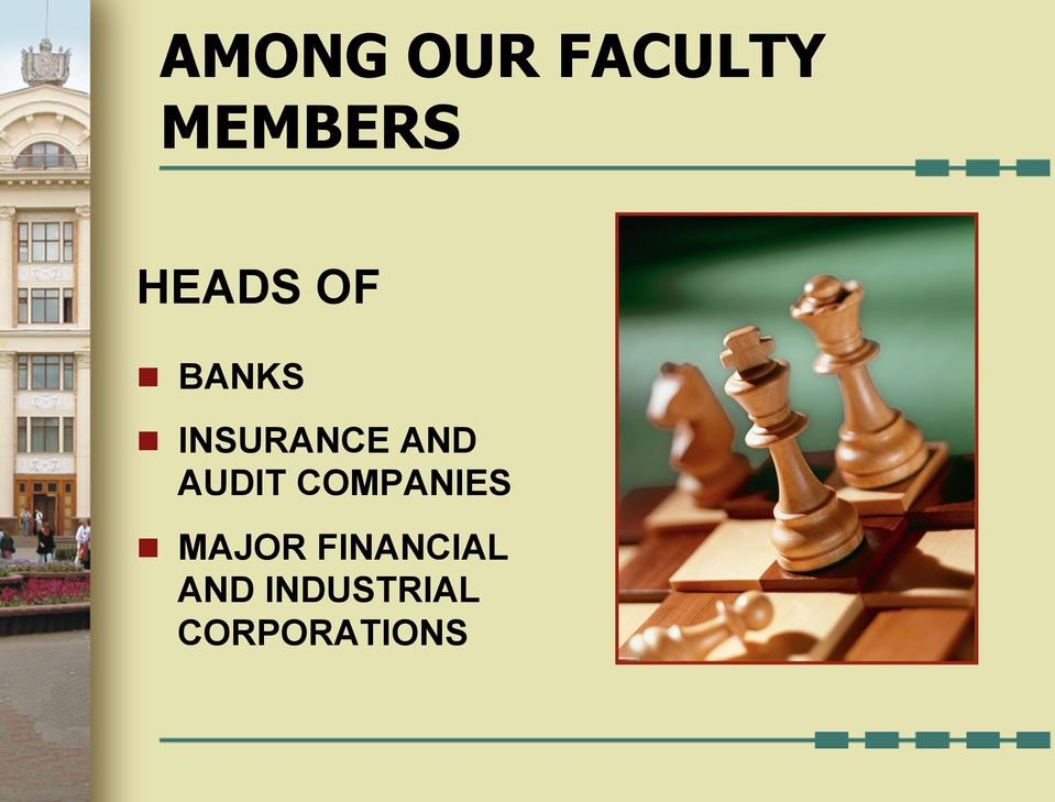 AND AUDIT COMPANIES n MAJOR