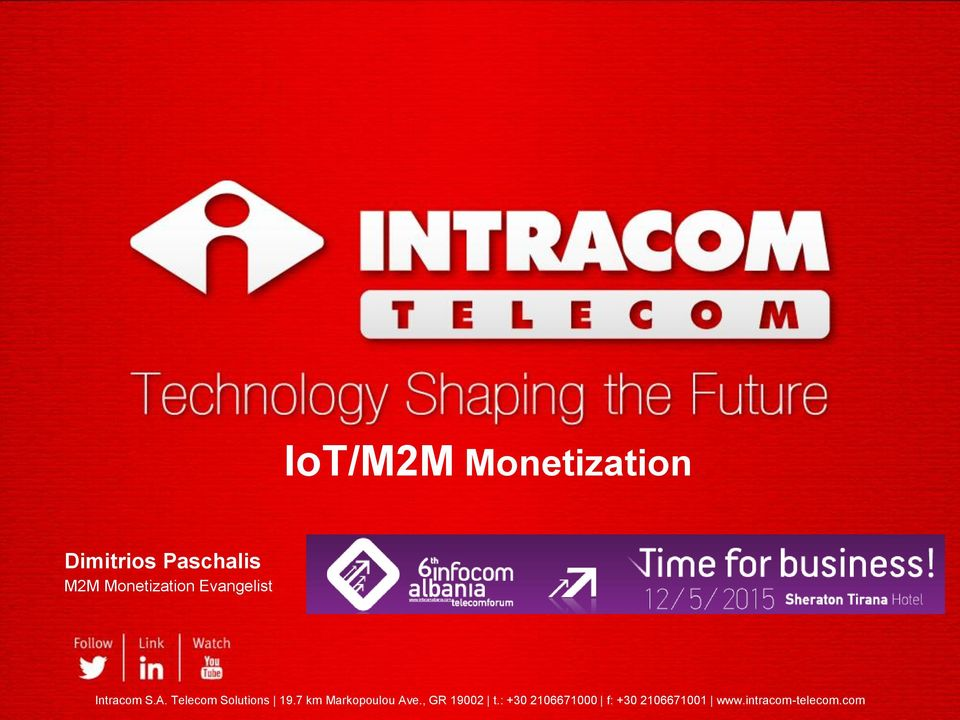 Telecom Solutions 19.7 km Markopoulou Ave.