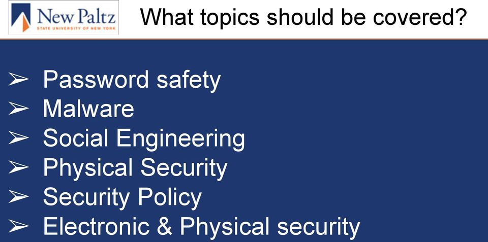 Engineering Physical Security