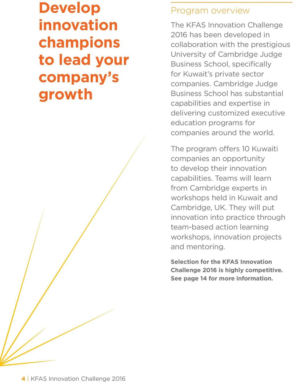Cambridge Judge Business School has substantial capabilities and expertise in delivering customized executive education programs for companies around the world.