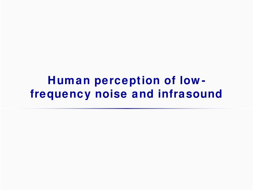 lowfrequency