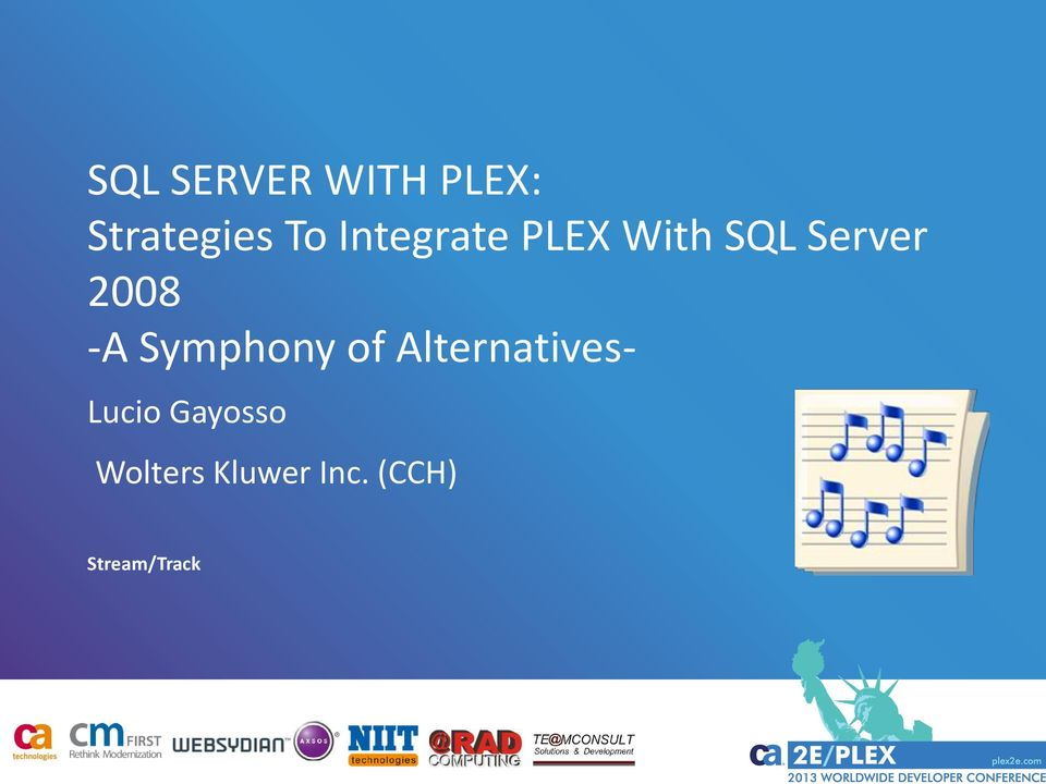 Sql Server With Plex Strategies To Integrate A. Symphony Of Alternatives Lucio. Wiring. Plex Data Warehouse Architecture Diagram At Scoala.co