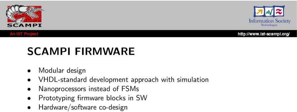 simulation Nanoprocessors instead of FSMs