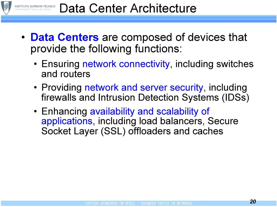 server security, including firewalls and Intrusion Detection Systems (IDSs) Enhancing