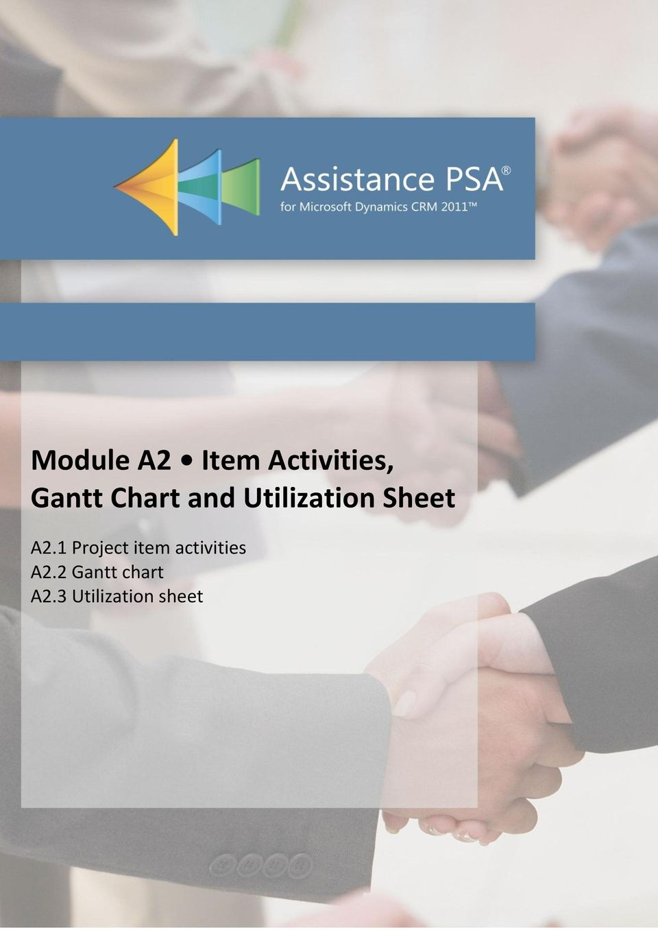 1 Project item activities A2.