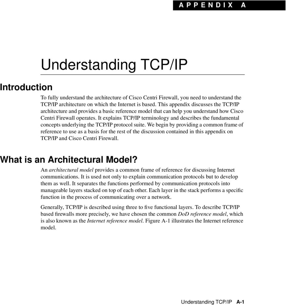 It explains TCP/IP terminology and describes the fundamental concepts underlying the TCP/IP protocol suite.