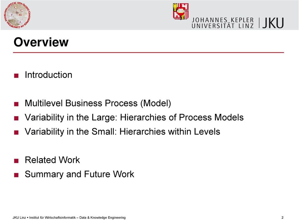 Process Models Variability in the Small: