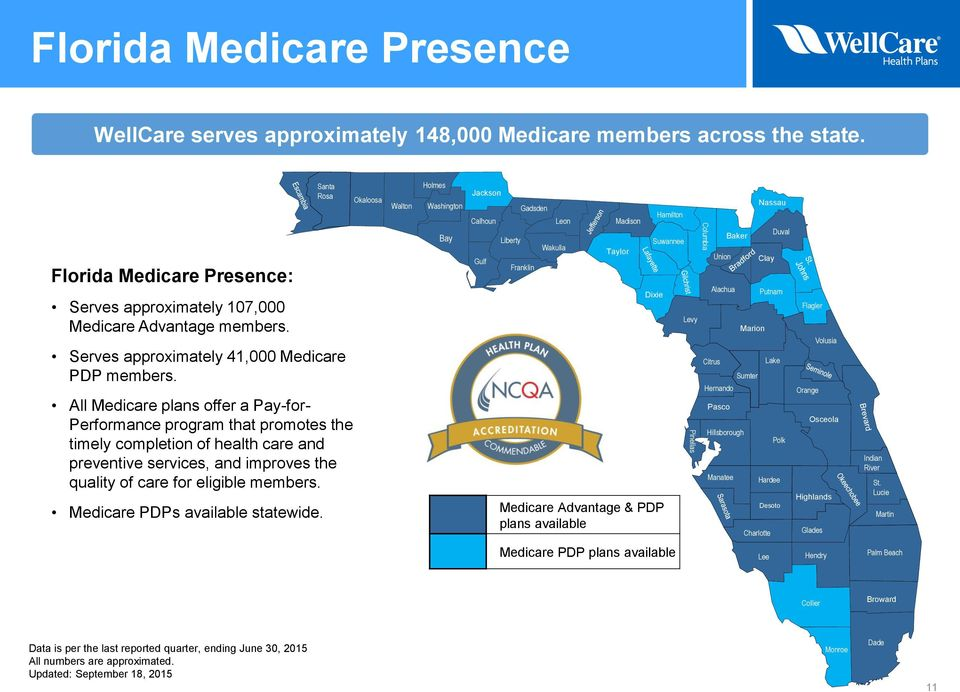 All Medicare plans offer a Pay-for- Performance program that promotes the timely completion of health care and preventive services, and improves the quality of care for eligible members.