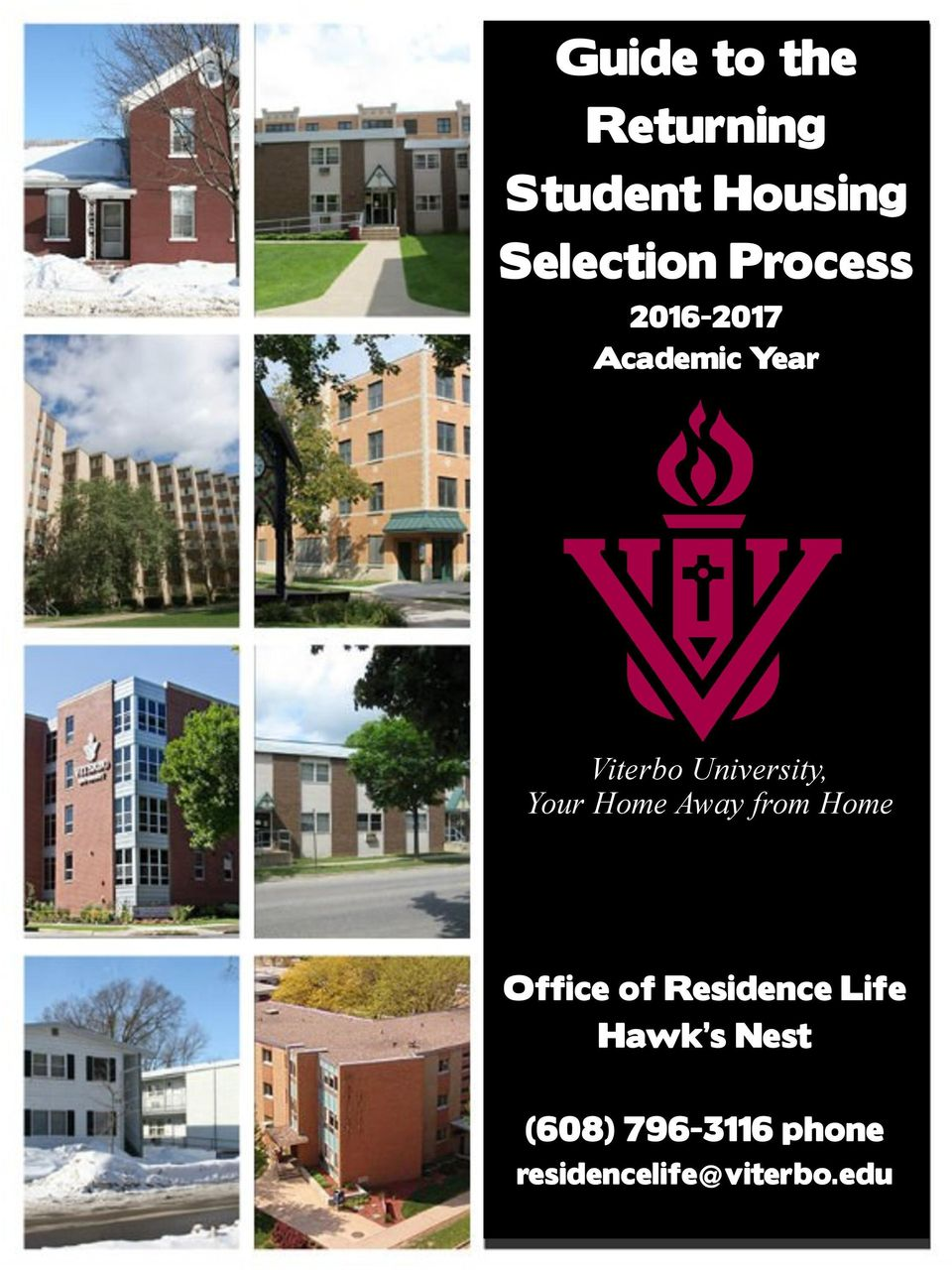 Your Home Away from Home Office of Residence Life