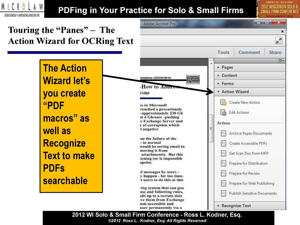 let s you create PDF macros as well