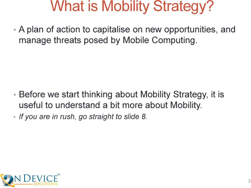 threats posed by Mobile Computing.