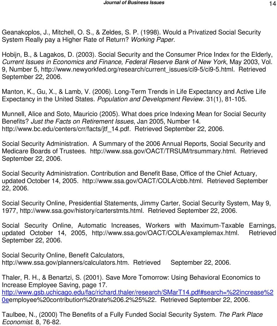 newyorkfed.org/research/current_issues/ci9-5/ci9-5.html. Retrieved September 22, 2006. Manton, K., Gu, X., & Lamb, V. (2006).