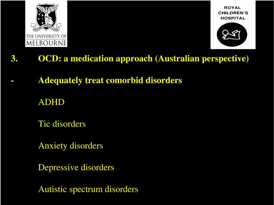 Anxiety disorders Depressive