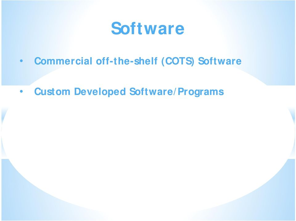 Software Custom